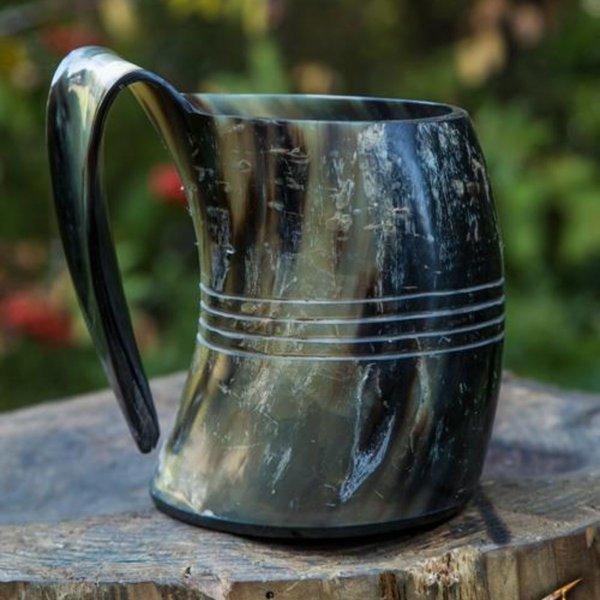 Epic Armoury Horn kop Shetland, lys