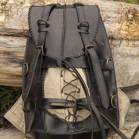 Epic Armoury Steampunk plecak, czarny