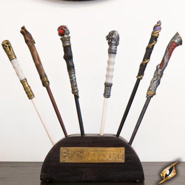 Epic Armoury Support en bois pour baguettes magiques