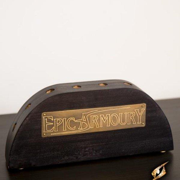 Epic Armoury Soporte de madera para varitas