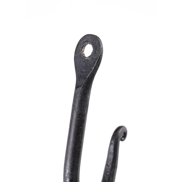 Ulfberth Crochet de paroi en acier forgé à la main