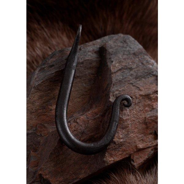 Ulfberth gancho de la pared de acero a mano forjado