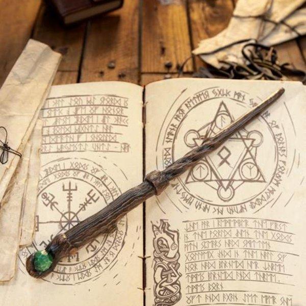 Epic Armoury Wand Druid, brązowy