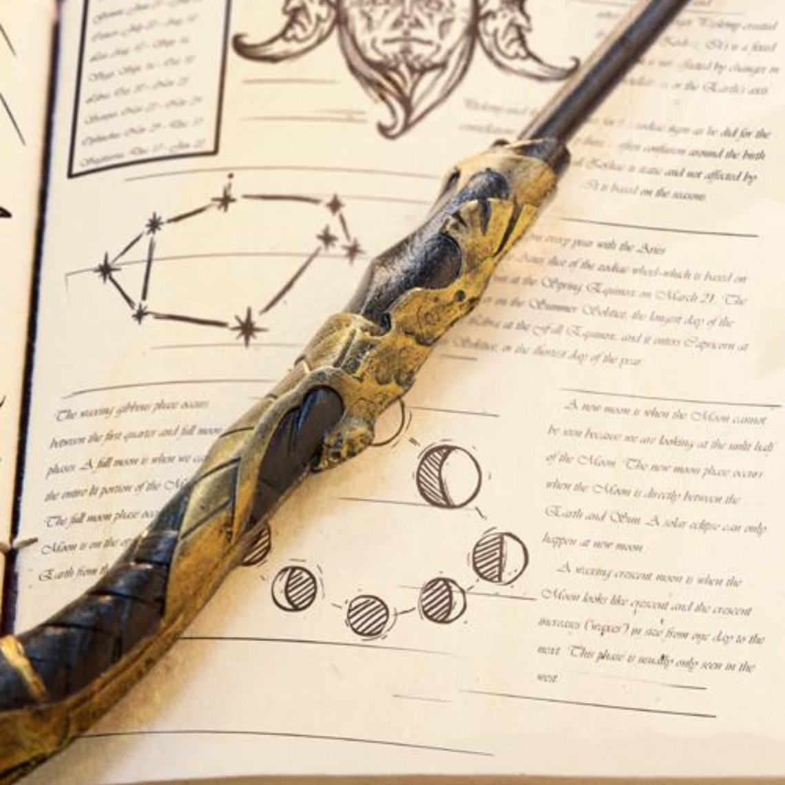 Epic Armoury Wand Dagon, black