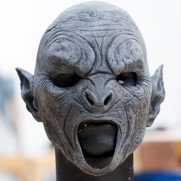 Epic Armoury Orc mask krigare, omålade