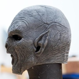 Orc Maske Krieger, unlackiert