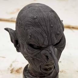 Orc maska wojownik, niepomalowane
