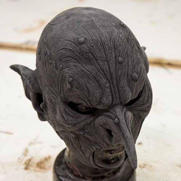 Epic Armoury Orc maske kriger, umalet
