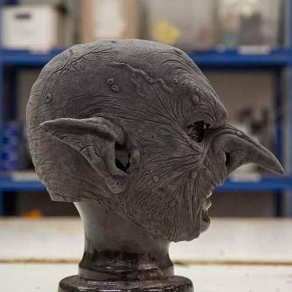 Epic Armoury Bösartige Goblin Maske, unlackiert