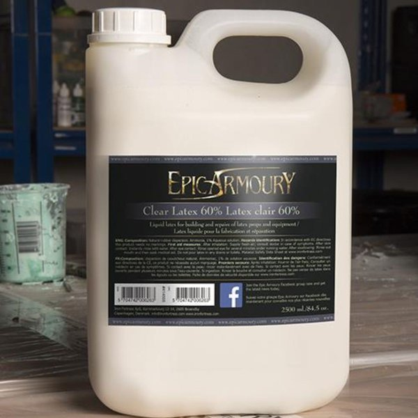 Epic Armoury Transparante latex 2,5 L