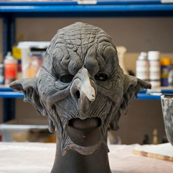 Epic Armoury Goblin-Maske, unlackiert