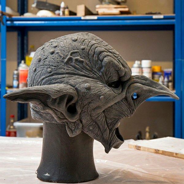 Epic Armoury Goblin maschera, non verniciata