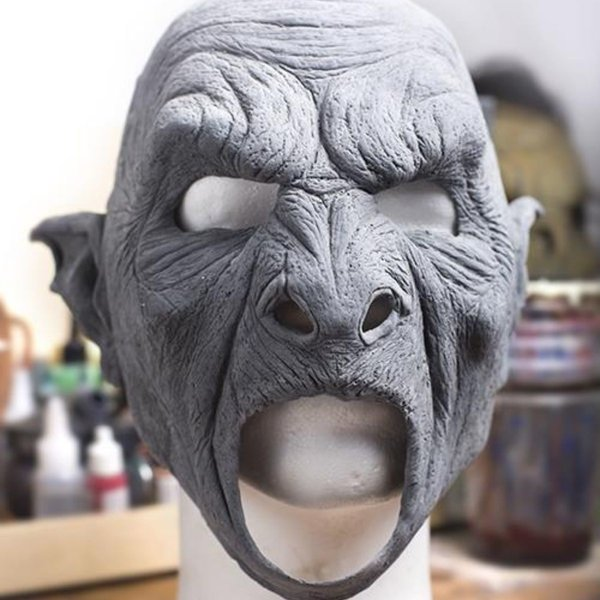 Epic Armoury Orc mask, unpainted