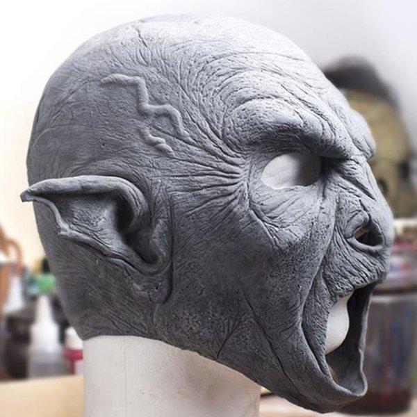 Epic Armoury Orc maschera, non verniciata