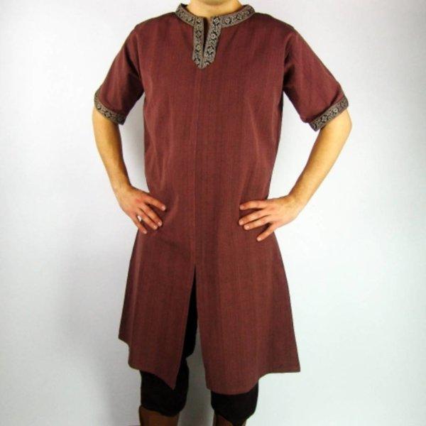 Leonardo Carbone Celtic tunika, korte ærmer, creme