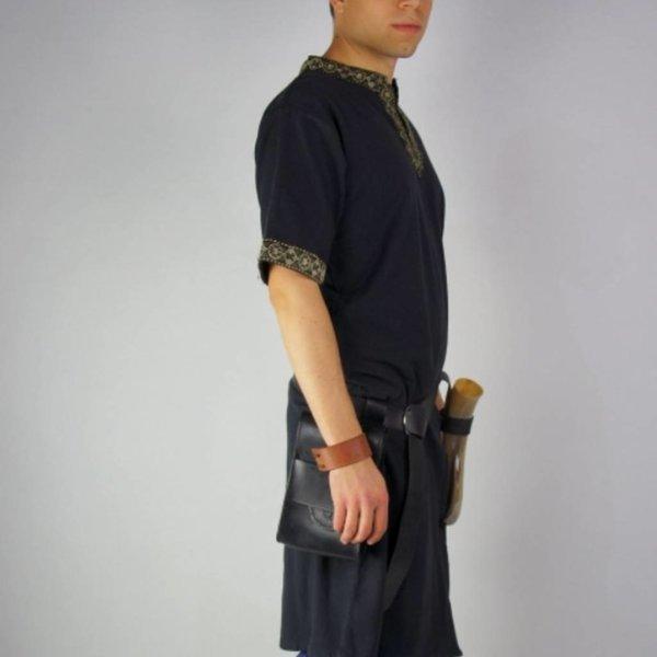 Leonardo Carbone Tunica celtica, maniche corte, crema