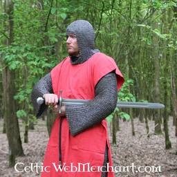 Surcoat Männer, rot