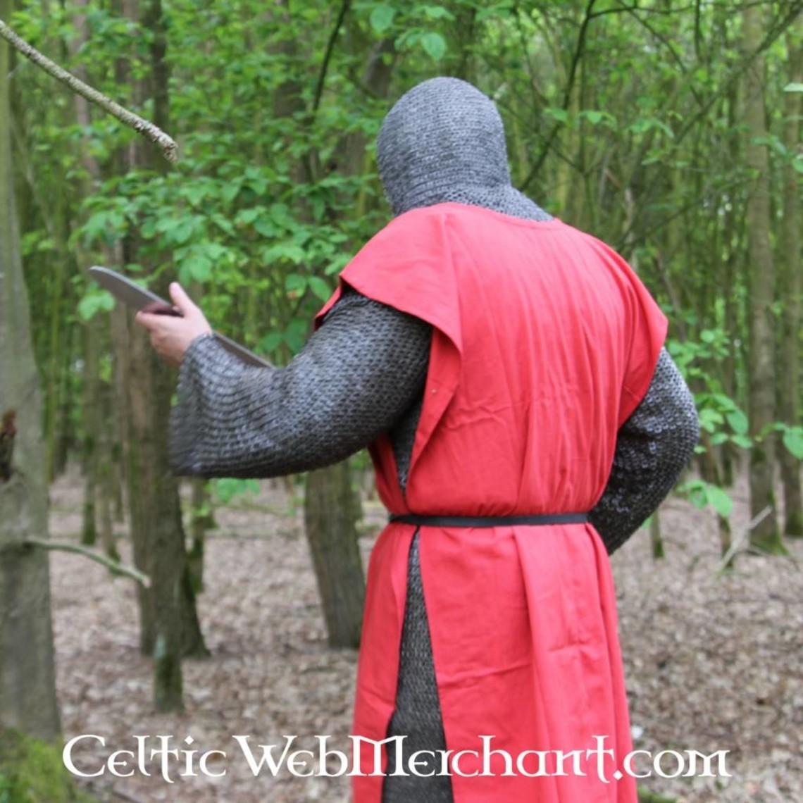 Leonardo Carbone Overkleed, geruit, zwart-rood