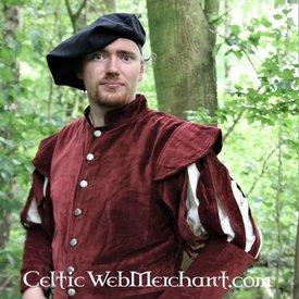 Leonardo Carbone Jacke mit offenen Ärmeln, rot