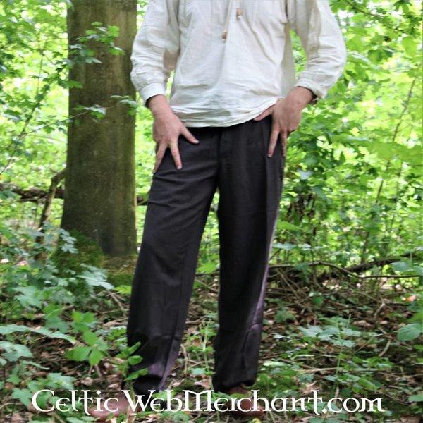 Leonardo Carbone Bukser med knapper, brun