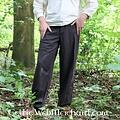 Leonardo Carbone Pantalones con botones, negro