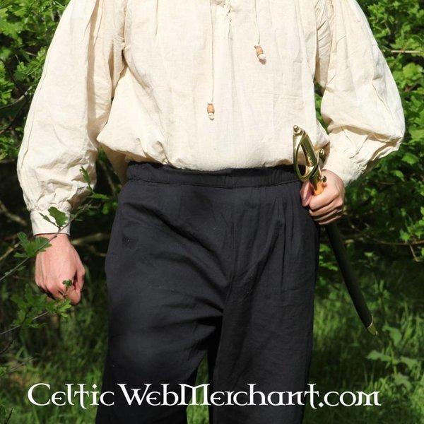 Leonardo Carbone Tre-kvart bukser, honning brun