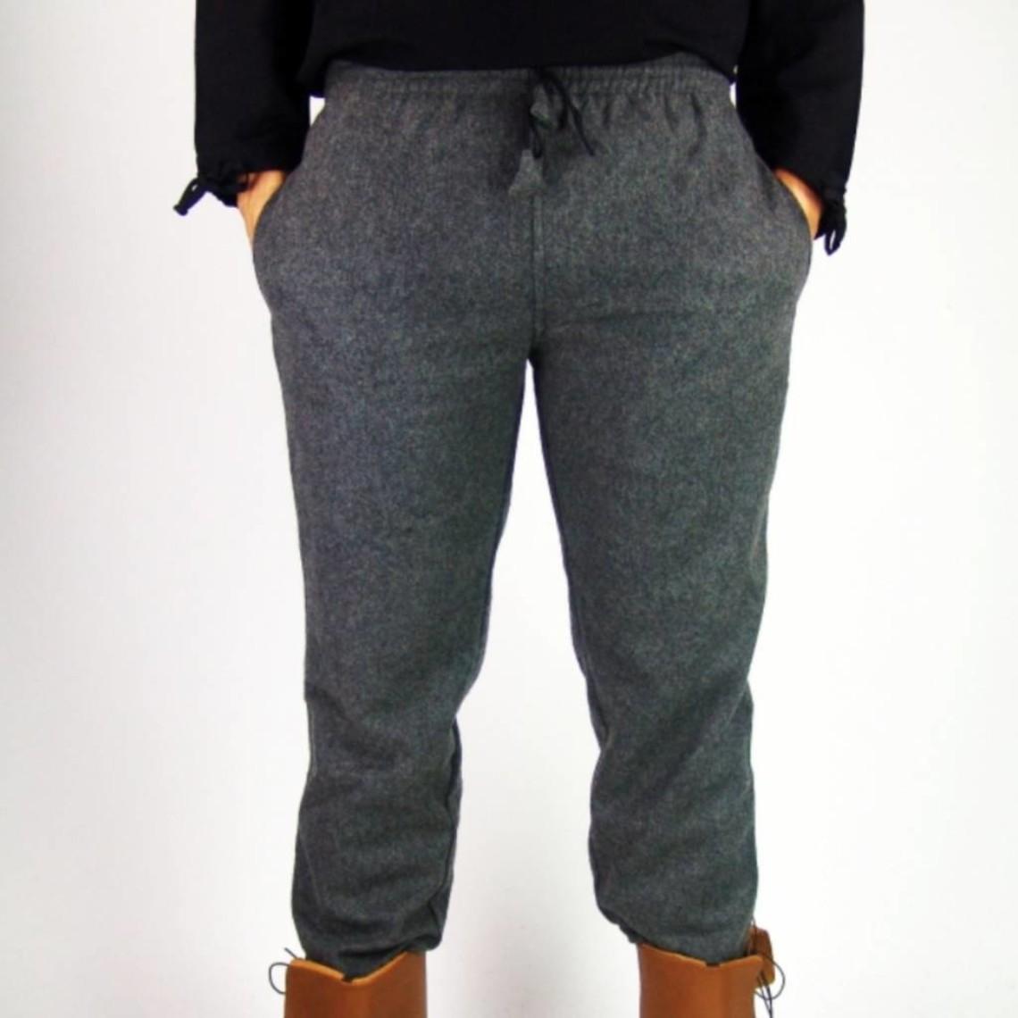 Leonardo Carbone Wollen broek, zwart