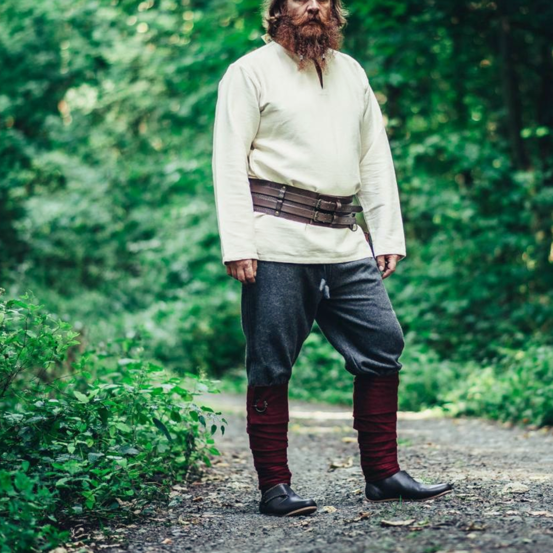 Leonardo Carbone Pantalones de lana, gris