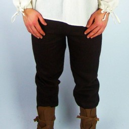 Woolen trousers, brown
