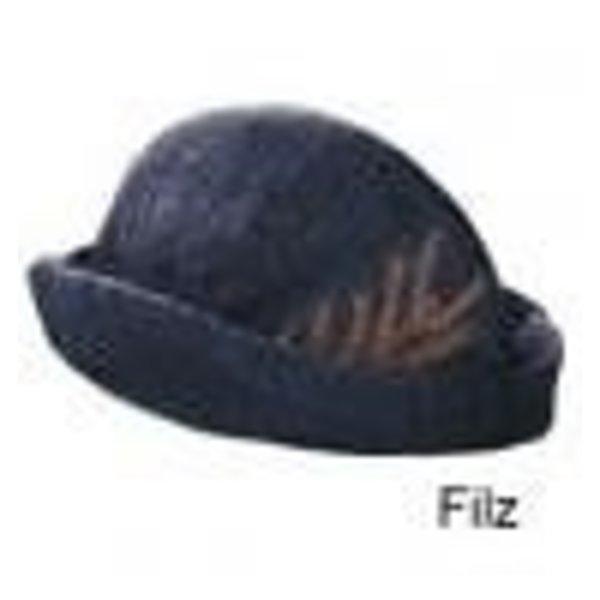 Chapeau à plume, crème