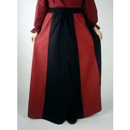 Spódnica Inge, czarno-czerwony