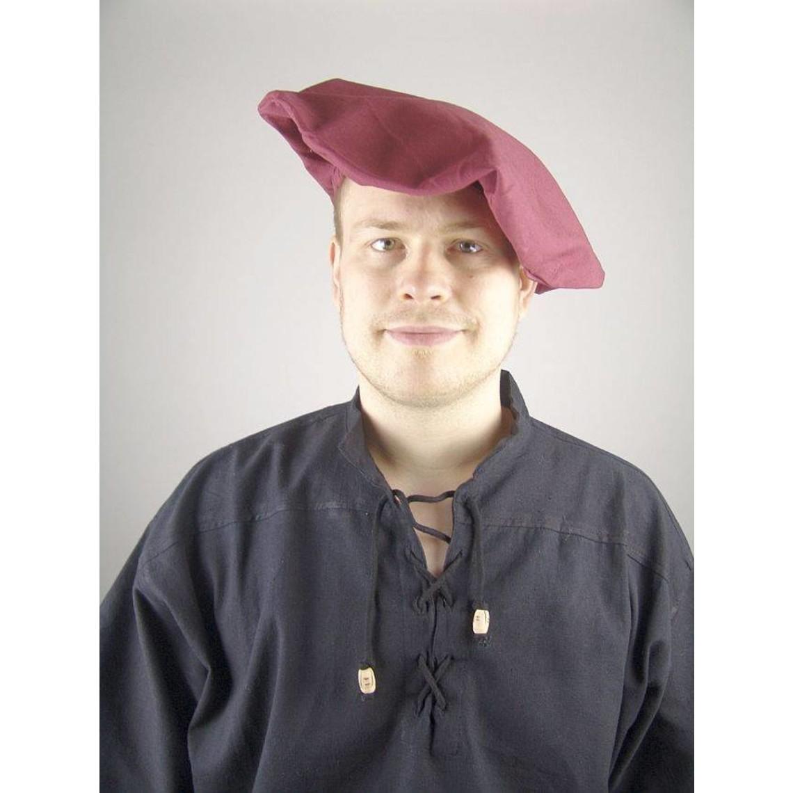 Leonardo Carbone Baumwolle Baskenmütze, braun