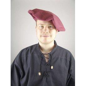 Baumwolle Baskenmütze, rot