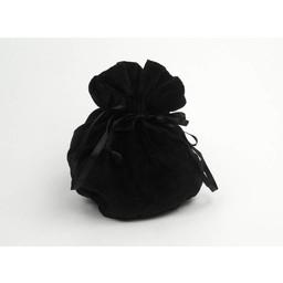 Luxurious pouch Susanna, black