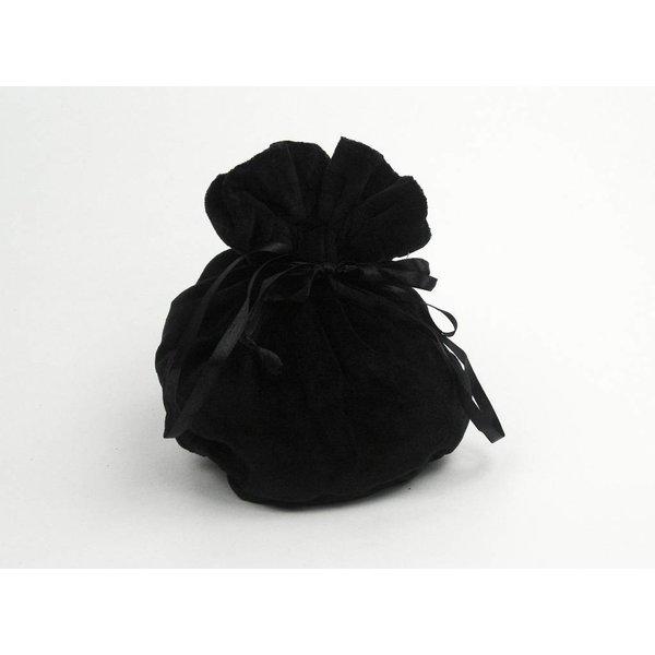 Luxe buidel Susanna, zwart