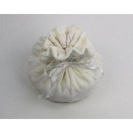 Leonardo Carbone Luxurious pouch Susanna, white