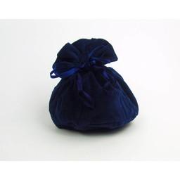 Luxuriöse Beutel Susanna, blau