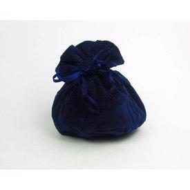 Luksuriøs pose Susanna, blå