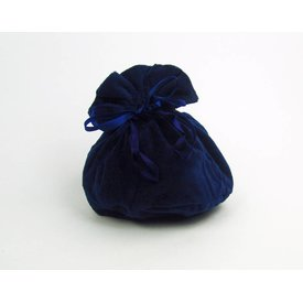 Luxe buidel Susanna, blauw