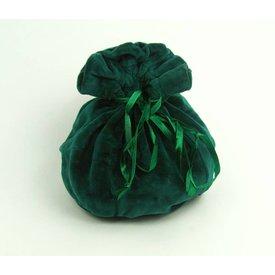 Leonardo Carbone Luxurious pouch Susanna, green