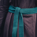 Leonardo Carbone Cintura banda Colet, verde