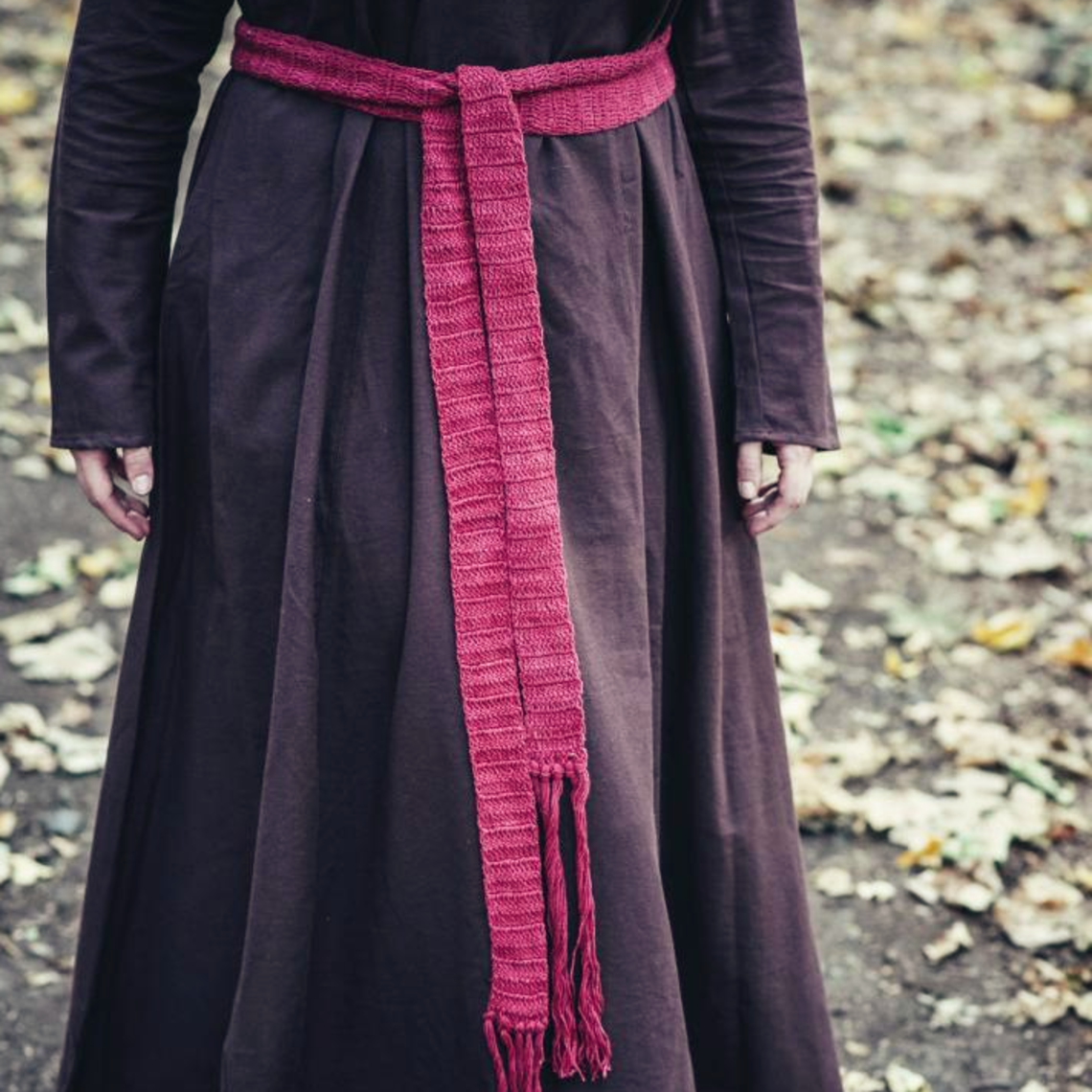 Leonardo Carbone Cintura banda Colet, negro
