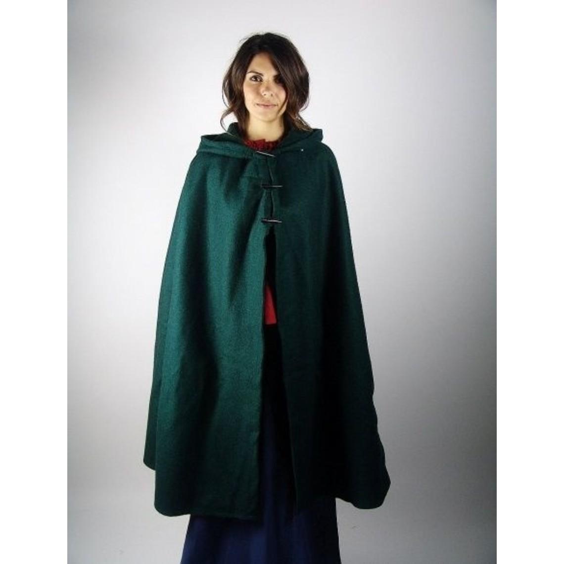 Leonardo Carbone Manteau de laine Felis, vert