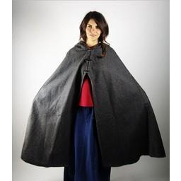 Wool cloak Felis, black