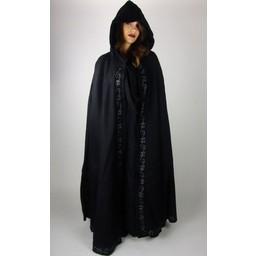 Embroidered cloak Damia, blue