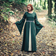 Leonardo Carbone Dress Ivy green-white