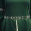 Jurk Ivy groen-wit