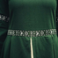 Leonardo Carbone Kjole Ivy green-white