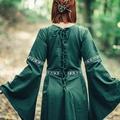 Leonardo Carbone Kleid Ivy grün-weiß