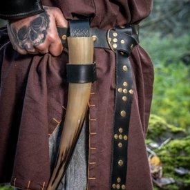 Leonardo Carbone Viking belt Snorre, black